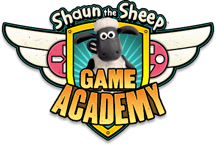 Shaun the Sheep Game Academy logo